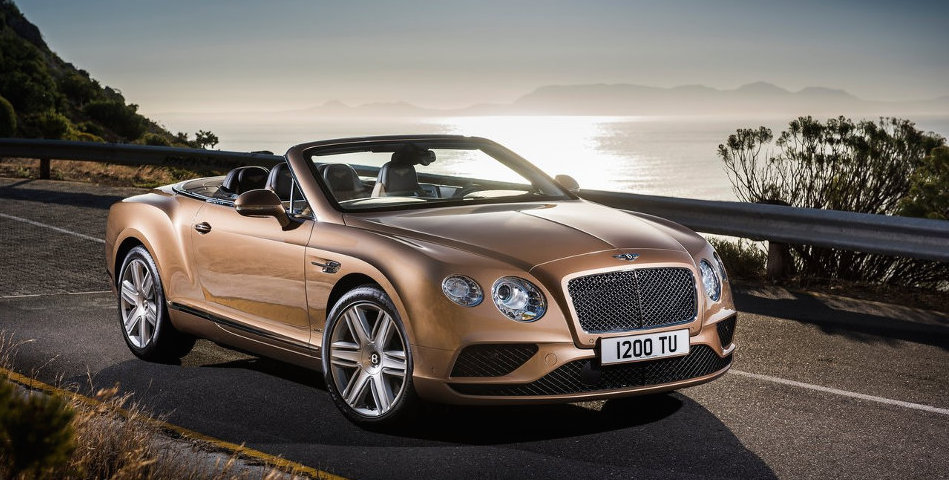 Bentley Continental GT Convertible Front View