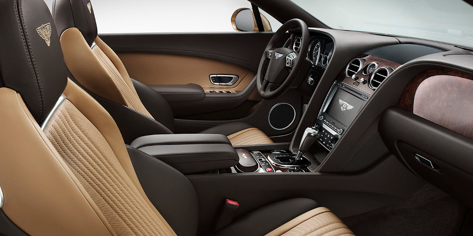 Bentley Continental GT Convertible Interior