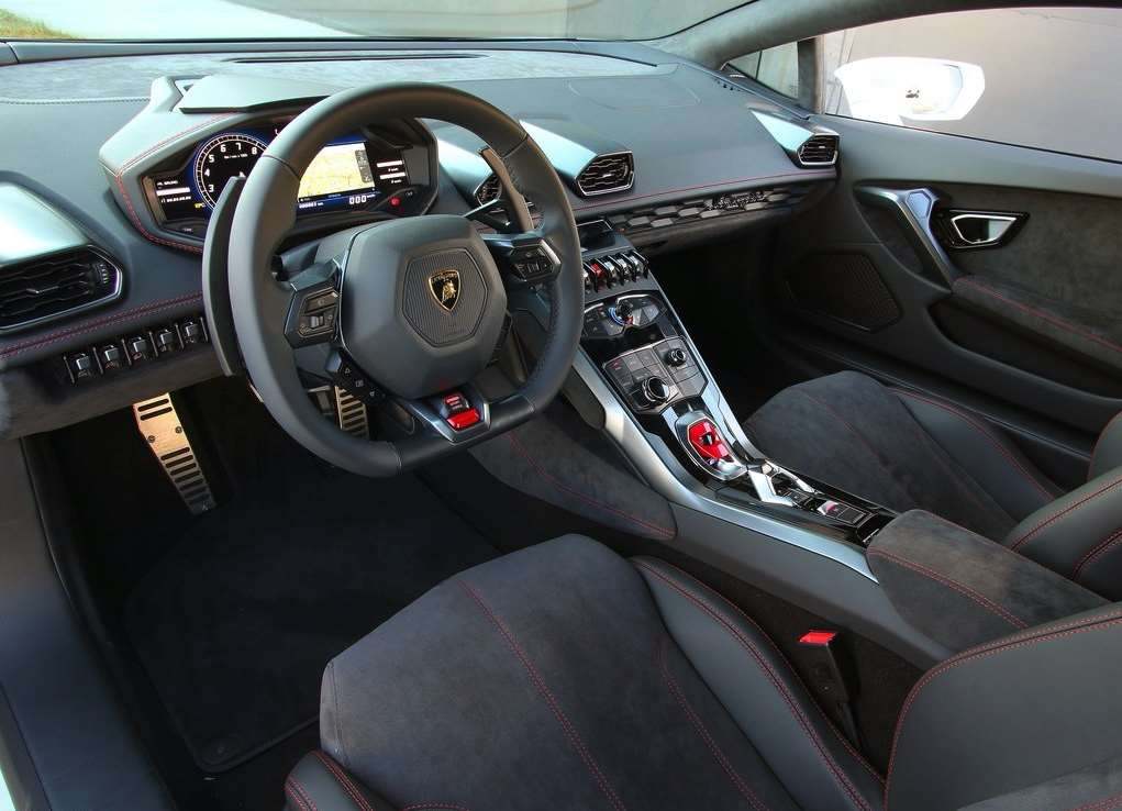 Lamborghini Huracan Interior Console