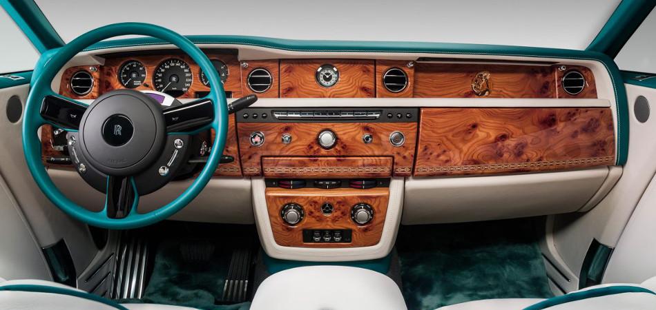 Rolls Royce Phantom Drophead Bespoke Interior
