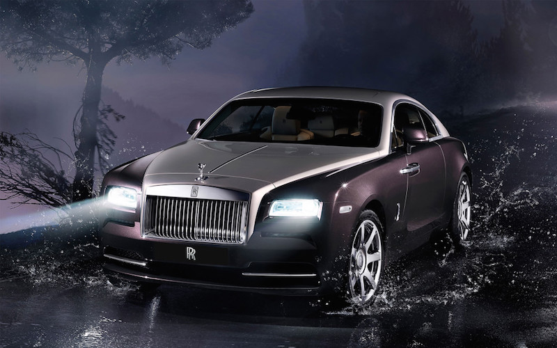 Rolls Royce Wraith Exterior View