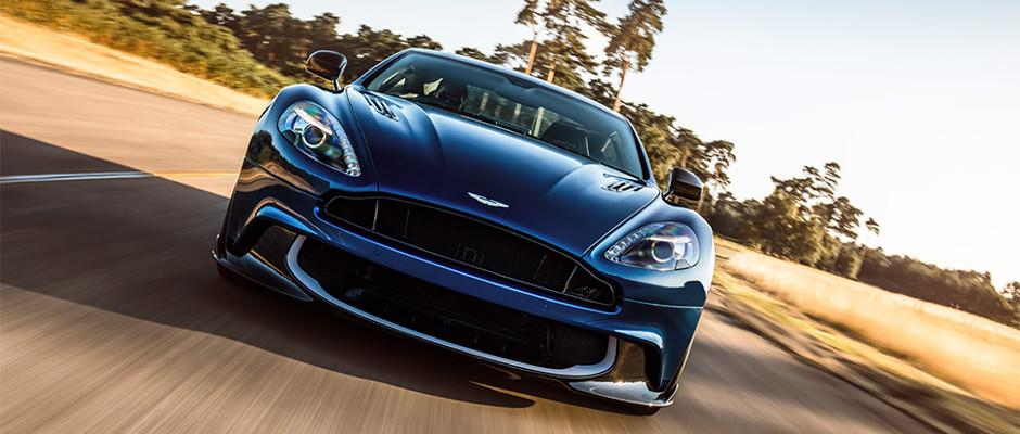 Aston Martin Vanquish S Front View