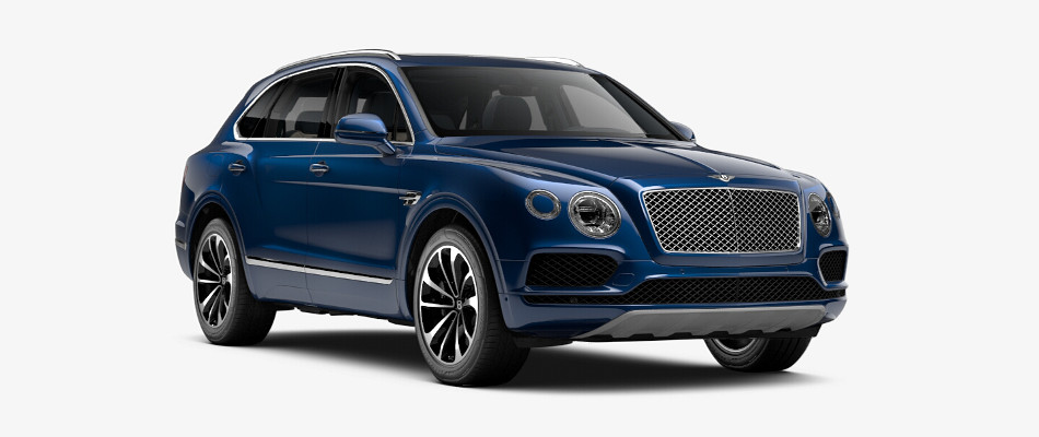 Bentley Bentayga in Fountain Blue