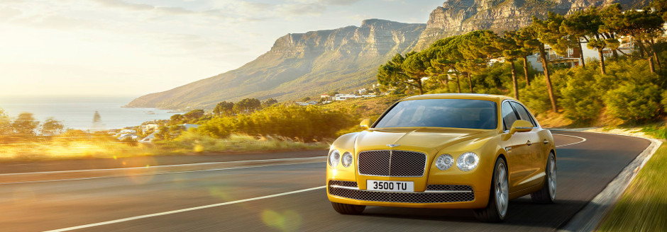 Bentley Flying Spur W12 Mountain Drive