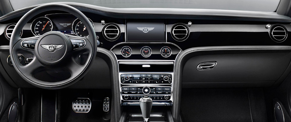 Bentley Mulsanne Speed Interior Console