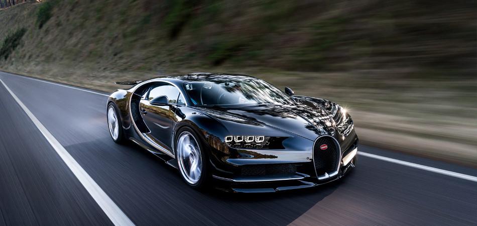 Bugatti Chiron Exterior