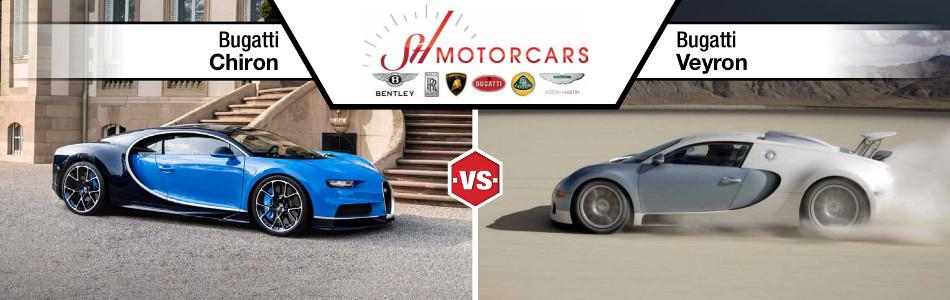 Bugatti Chiron vs Bugatti Veyron