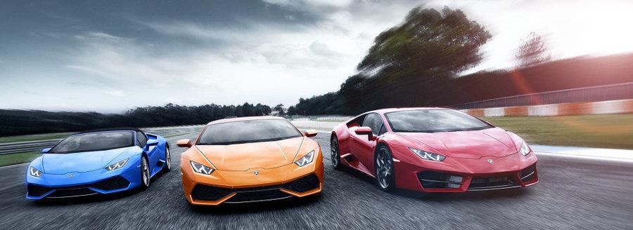 Lamborghini Huracan Model Lineup