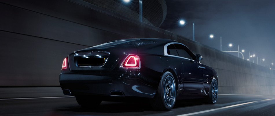 Rolls-Royce Wraith Black Badge Rear Exterior