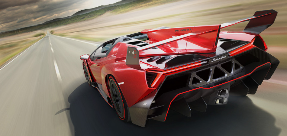 Lamborghini Veneno Roadster Model
