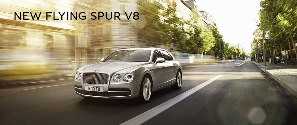 New Bentley Flying Spur V8 available at St. Louis Motor Cars in St. Louis, MO