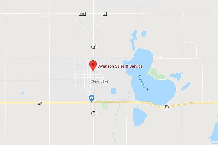 Map of Swenson Sales & Service