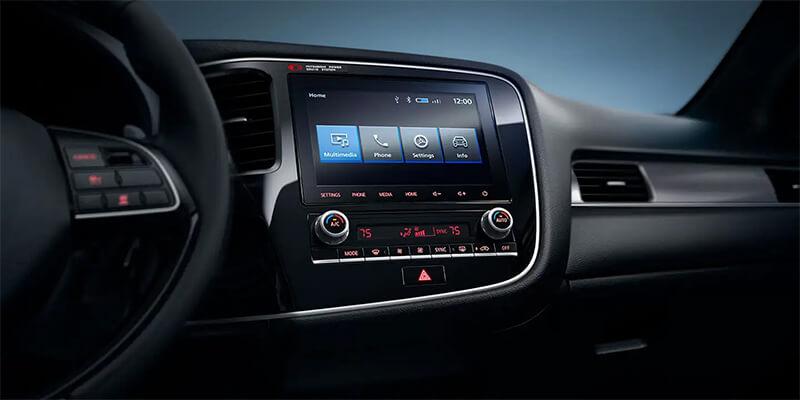 2020 Mitsubishi Outlander Smartphone-Link Display Audio
