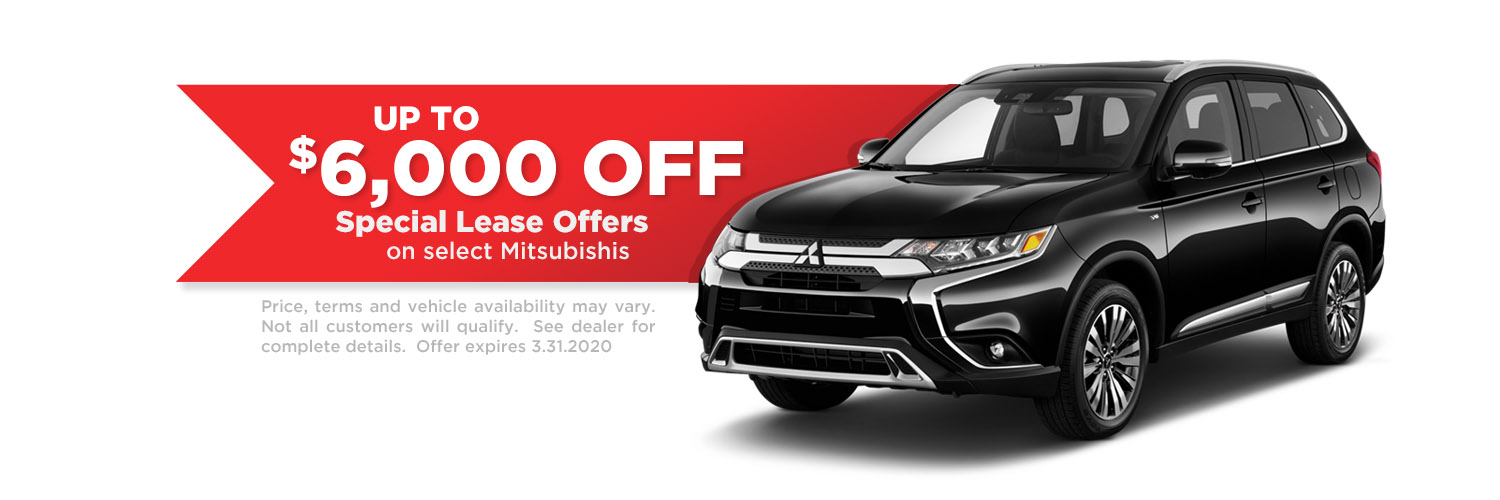 Special Mitsubishi Lease Offers