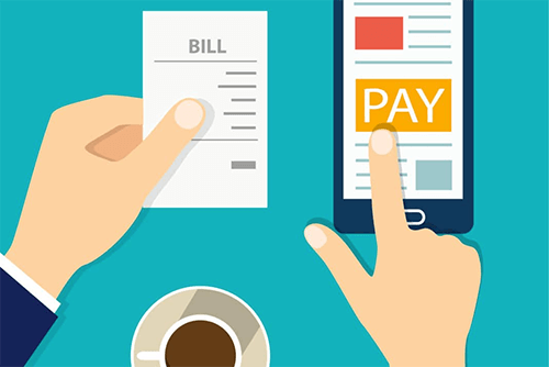 Paying Bills Graphic