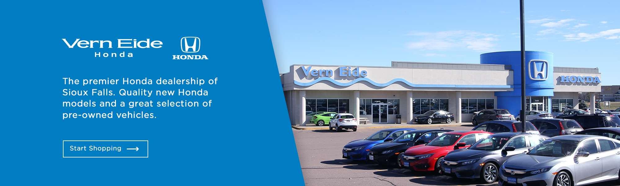 Honda Sioux City >> Vern Eide Motorcars   Sioux Falls, SD   Vern Eide