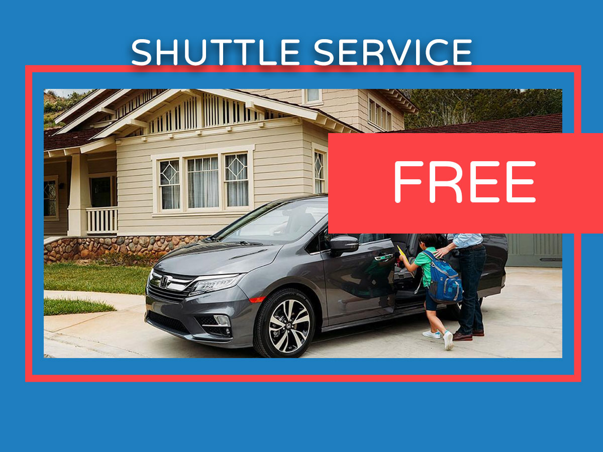 Honda Service Shuttle Coupon
