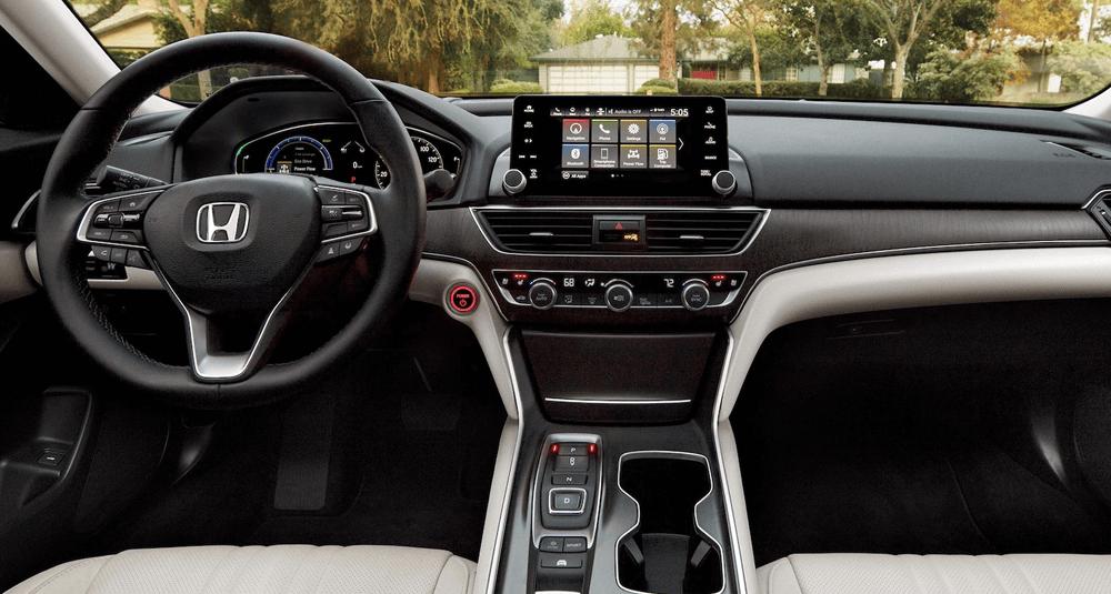 2021 Honda Accord Interior Cockpit Image