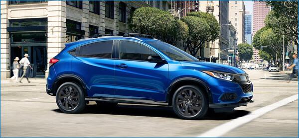2021 Honda HR-V Driving Image