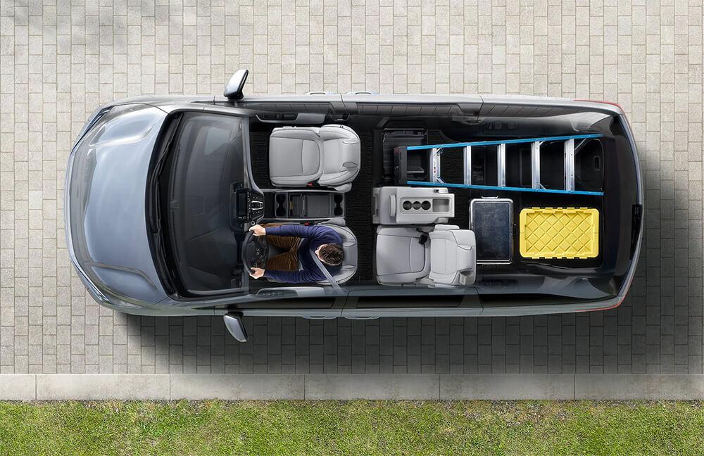 2021 Honda Odyssey Interior Overview Image