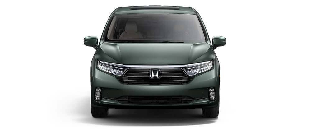 2021 Honda Odyssey Photo Front Grille Studio Location