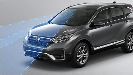 Honda CR-V with Adaptive Cruise Control