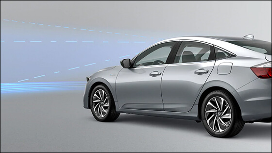 Honda Insight with Adaptive Cruise Control