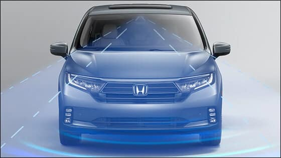 Honda Odyssey with CMBS Image
