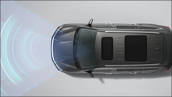 Honda Pilot with Adaptive Cruise Control
