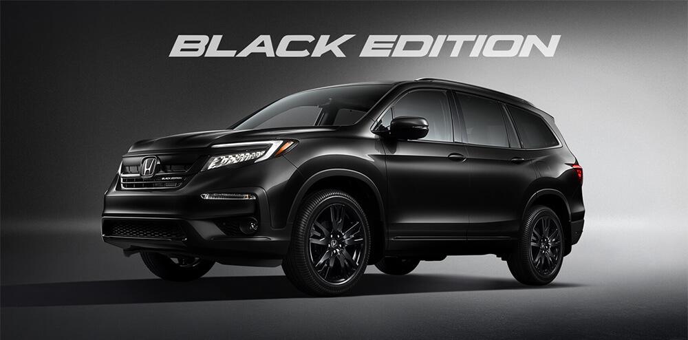 2021 Honda Pilot Black Edition Trim