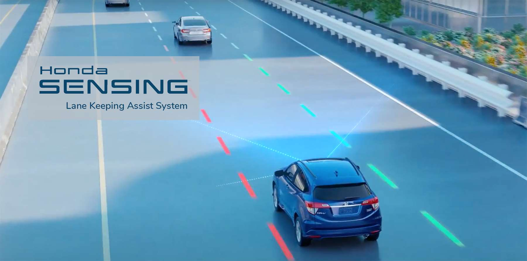 Honda Lane Keeping Assist System LKAS Hero Image