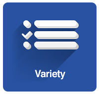 Variety - Choose from Thousands