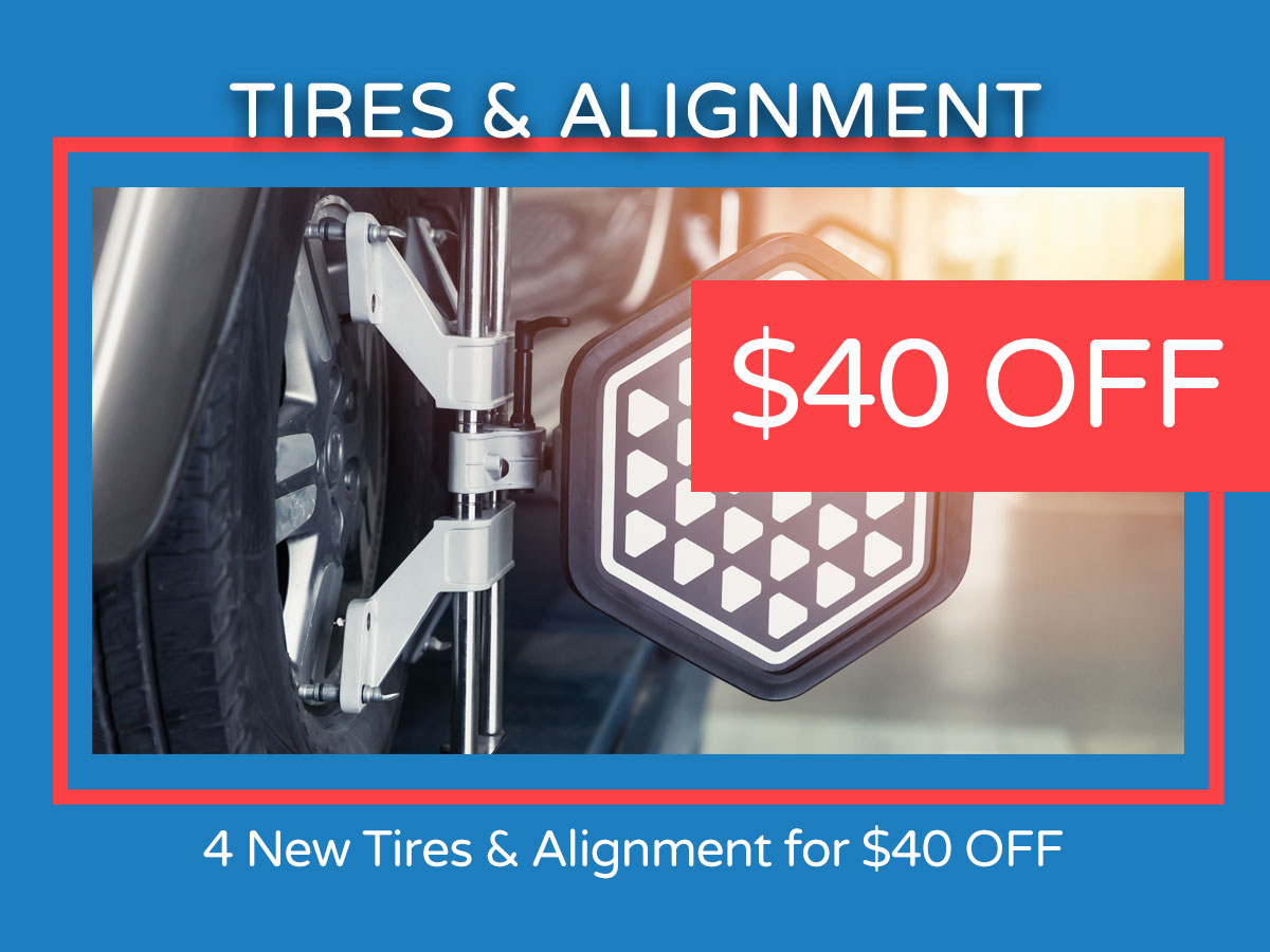 Tires & Alignment Coupon