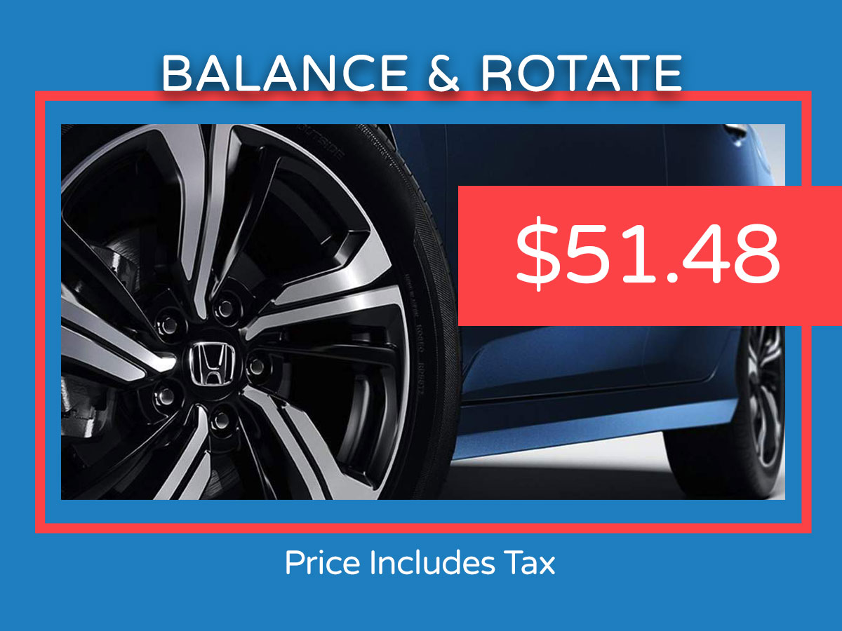 Balance & Rotate Tires Coupon