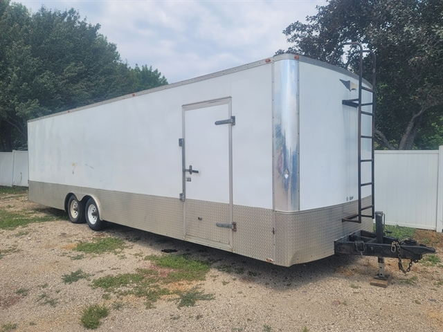 2001 H&H 28 ft enclosed race trailer
