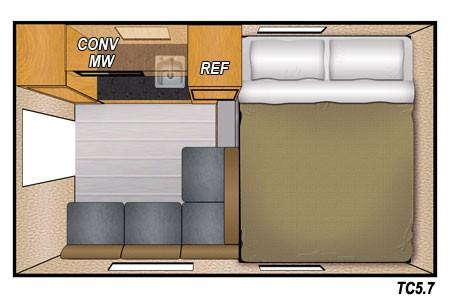 Camplite 5.7 - Livin Lite Camplite 5.7 Truck Camper