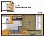 Camplite 6.8 - Livin Lite Camplite 6.8 Truck Camper