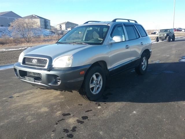 Stock# 17ND12I USED 2002 Hyundai Santa Fe | Bismark, North Dakota 58501 |  CK Auto