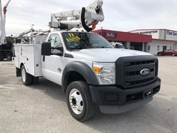 2011 FORD F550 42FT Bucket Truck