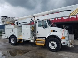 2009 STERLING Acterra 60FT Bucket Truck w/ Material Handler
