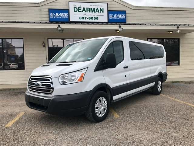 9dc7b56a82 Stock  A92100 USED 2015 FORD Transit 350 Extended Passenger Van ...