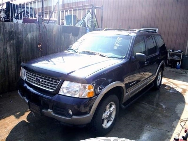2002 Ford Explorer Eddie Bauer >> Stock M877r Used 2002 Ford Explorer