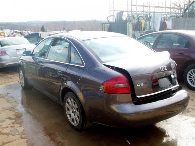 Stock J045rbek Used 2001 Audi A6 Bedford Virginia 24523 East