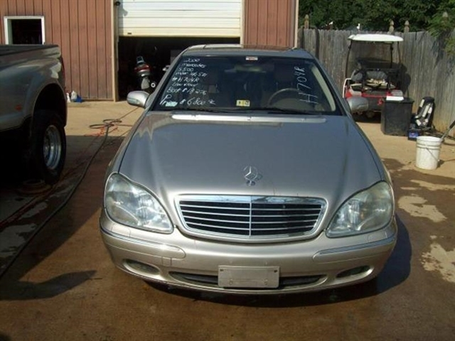 Stock# H704R USED 2000 Mercedes Benz S Class | Bedford, Virginia 24523 |  East Coast Auto Source, Inc.