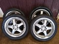 4 MONSOON KONIG  RIMS/ TIRES