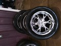 RADD RIMS W/ TIRES