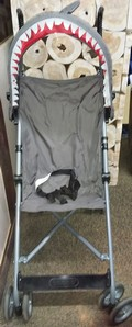 CHILDS SHARK STROLLER