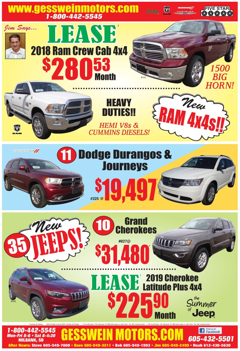 GREAT LEASE DEALS!!!