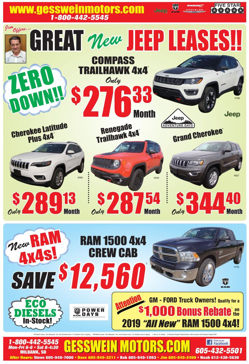 GREAT JEEP LEASES!!