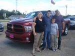 Carl, Erin, Marshall & Carson Stearns